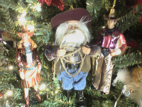 Cowboy Museum Christmas Ornaments