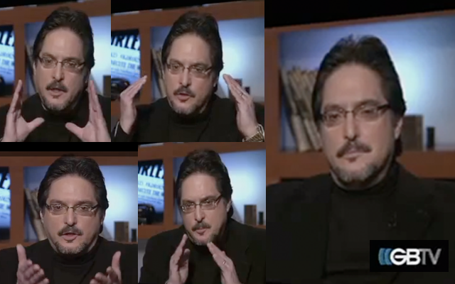 Montage of Richard Poe on GBTV, January 26, 2012