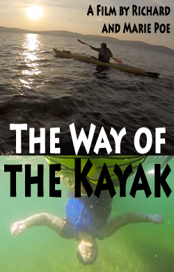 movie poster for The Way of the Kayak by Richard Poe