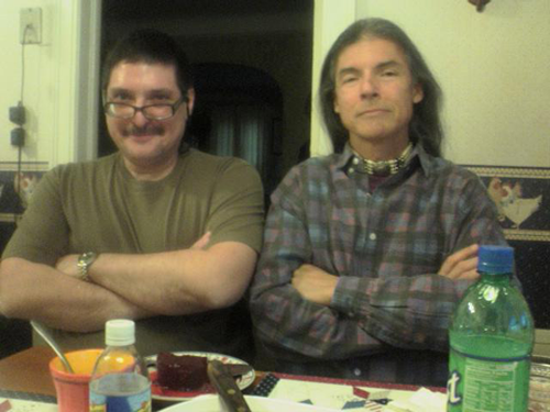 David Yeagley and Richard Lawrence Poe, Thanksgiving 2008, Oklahoma City